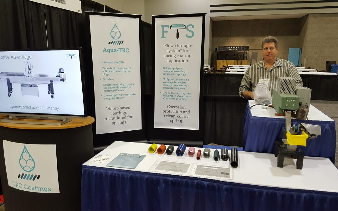IDA Expo 2017 – TRC Coatings debuts FTS!